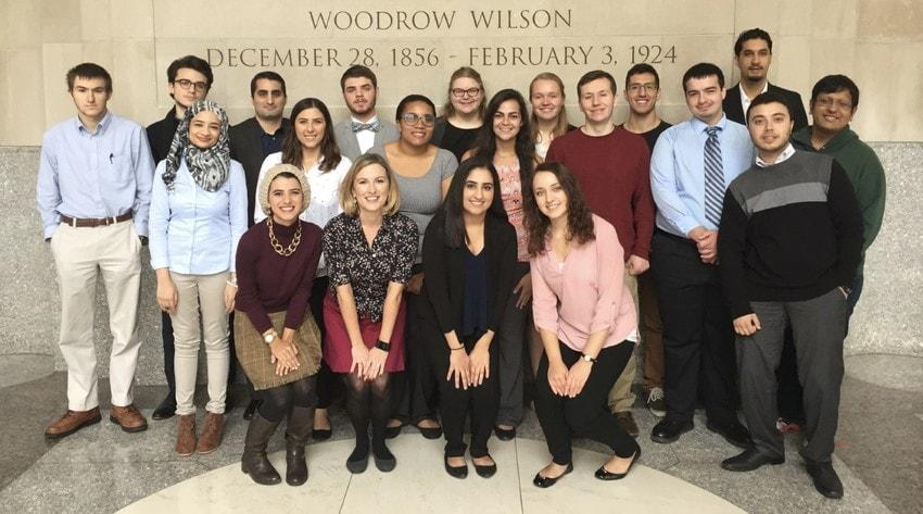 Schar School of Policy and Government undergraduate global fellows