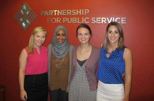 Undergraduate Schar School of Policy and Government PPS interns